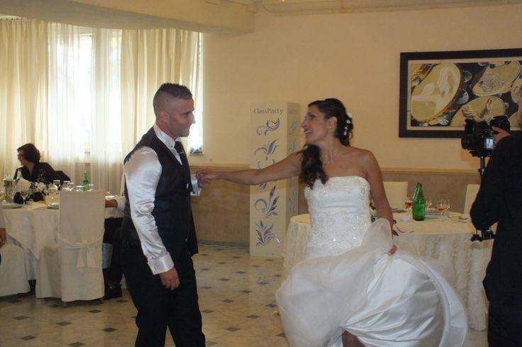 Primo ballo deegli sposi love me like you do di Ellie goulding , la canzone scelta per il primo ballo al matrimonio da Sandra e Simone