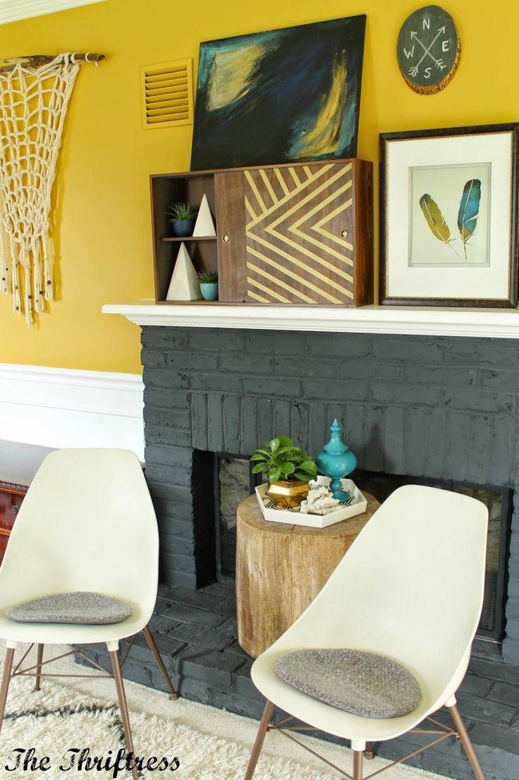 eclectic mantle 100 best Decorate your Mantel