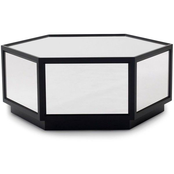 Mitchell gold bob williams sutton hexagon coffee table for Coffee tables bobs furniture