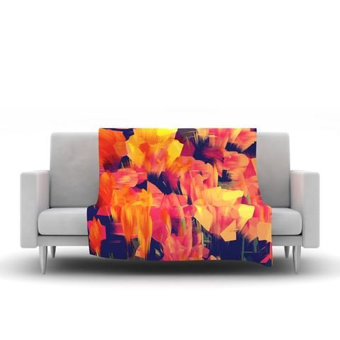 KESS InHouse is leading the way in bringing art to home decor. Our vibrant home items have caught the eye of several media outlets and have been featured in local and trade publications. We have synthetic fabric blend Fleece Blanket. Visit Us Now.
