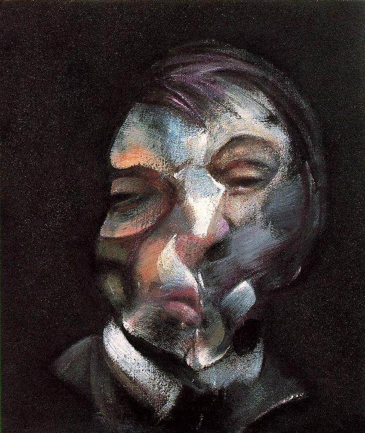 Peinture contemporaine - Francis Bacon - Autoportrait