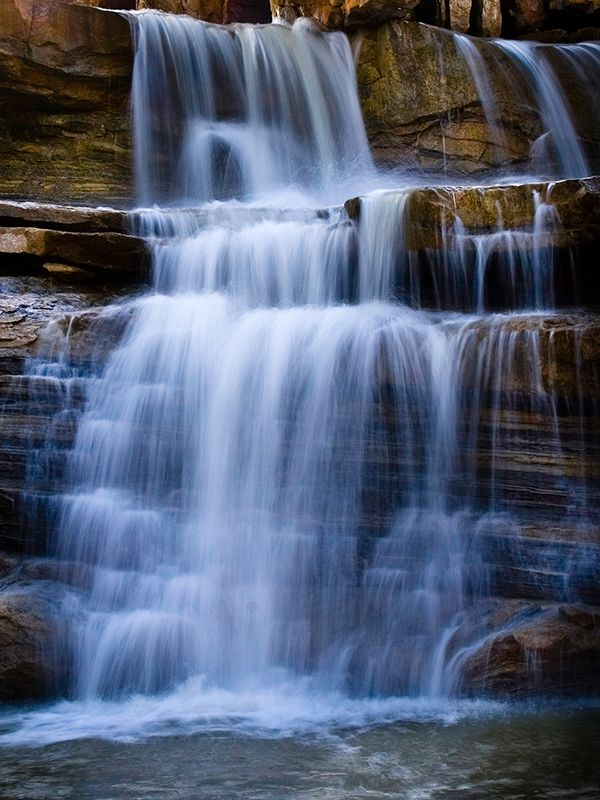 #Oklahoma has some must see areas with outstanding water features. Check out our list of beautiful #waterscapes, falls and cascades that will take your breath away.