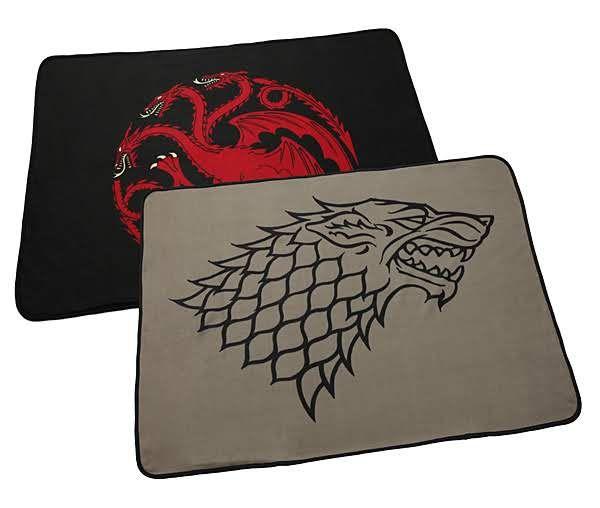 ThinkGeek :: Game of Thrones Two-Sided Fleece Blanket