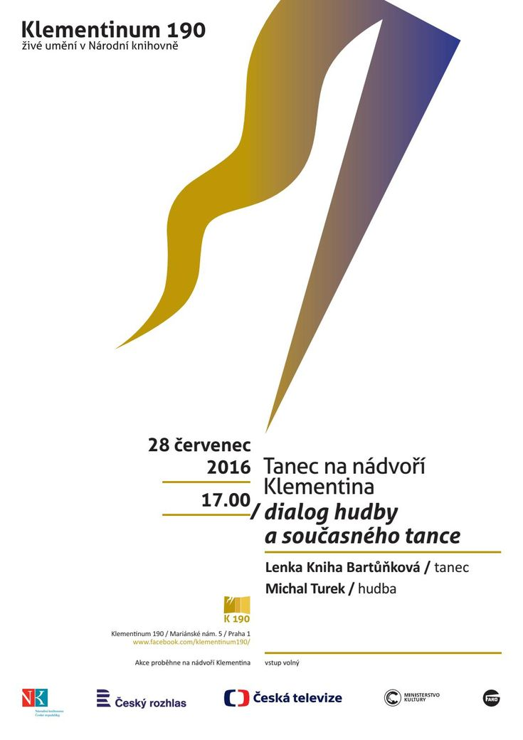 Poster K190 on the performance for National Library in Czech Republic