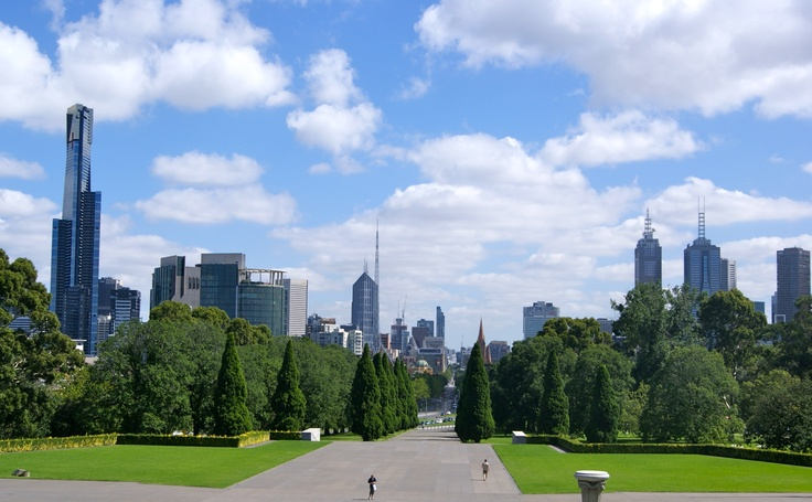 #Travel:  #Melbourne skyline, #Australia.  Photo credit: Dawne Rudman