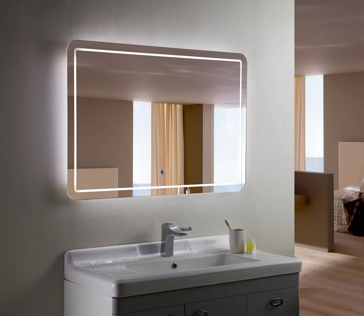 Bellagio II Backlit Mirror LED Badezimmerspiegel