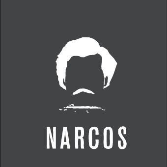 Narcos - Affiche minimaliste