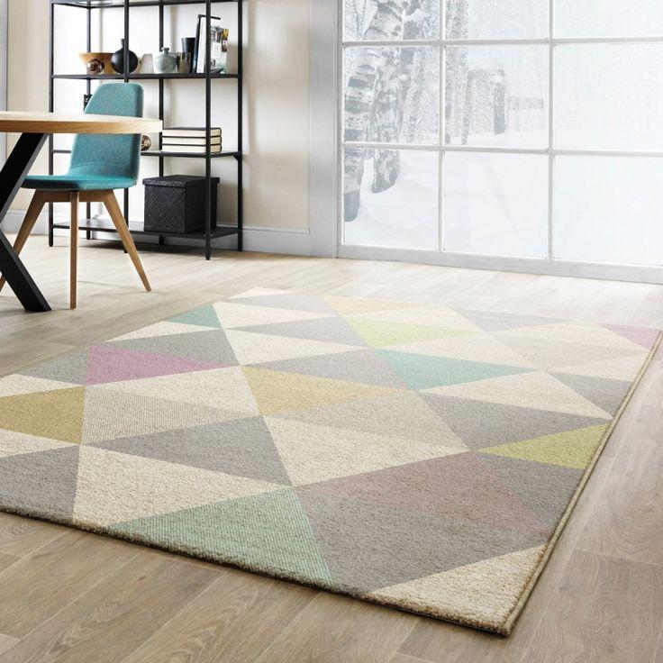 17 meilleures id es propos de tapis g om trique sur pinterest conception - Tapis contemporain belgique ...