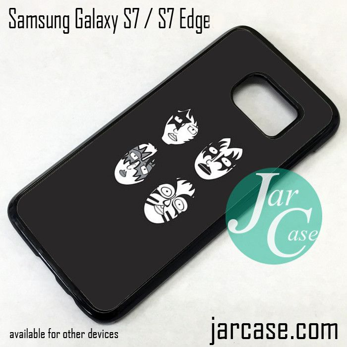 Kiss Mask YG Phone Case for Samsung Galaxy S7 & S7 Edge