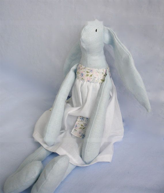 little bunny by Hipolita on Etsy, $23.00