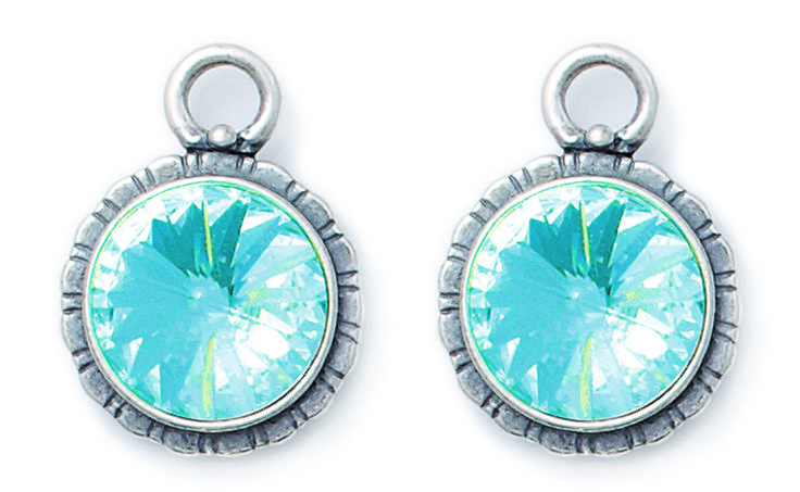 Miglio Jewelry USA - Vibrant Turquoise Pretty Woman Charms, $69.00 (http://www.migliojewelryusa.com/vibrant-turquoise-pretty-woman-charms/)