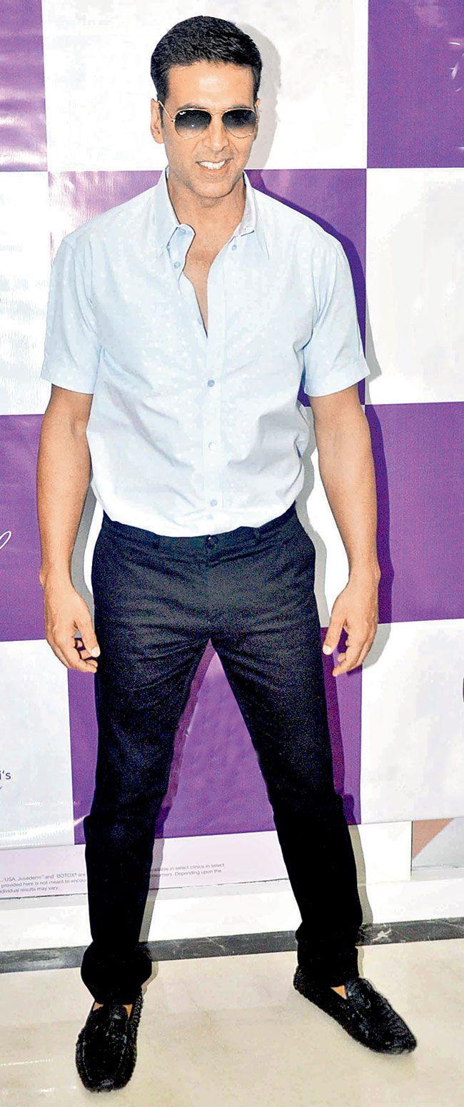 Akshay Kumar at a launch event.