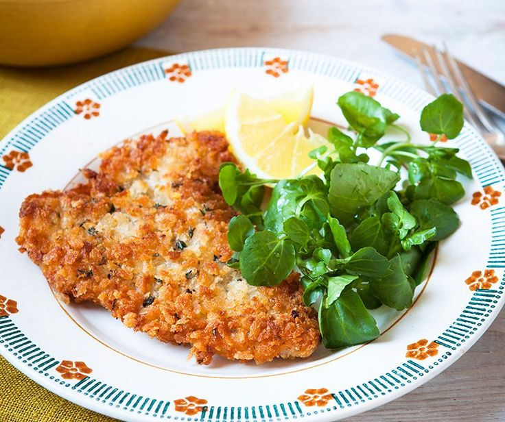 Lemon and thyme pork schnitzel: Quick and easy to put together, this light crispy pork dish is a mega taste treat, with the lemon and herbs adding plenty of zing. It's our take on the classic Wiener schnitzel and we think it's worthy of a place on any Viennese table. Makes a couple of pork steaks go a long way, too.