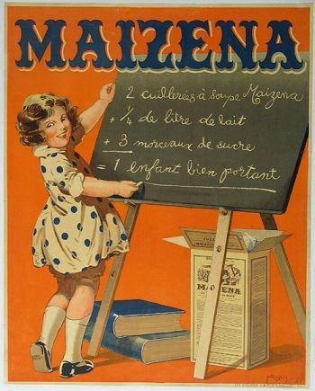 Sweet vintage poster