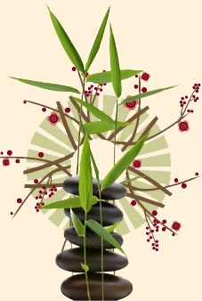 Ikebana ~ the art of Japanese flower arranging
