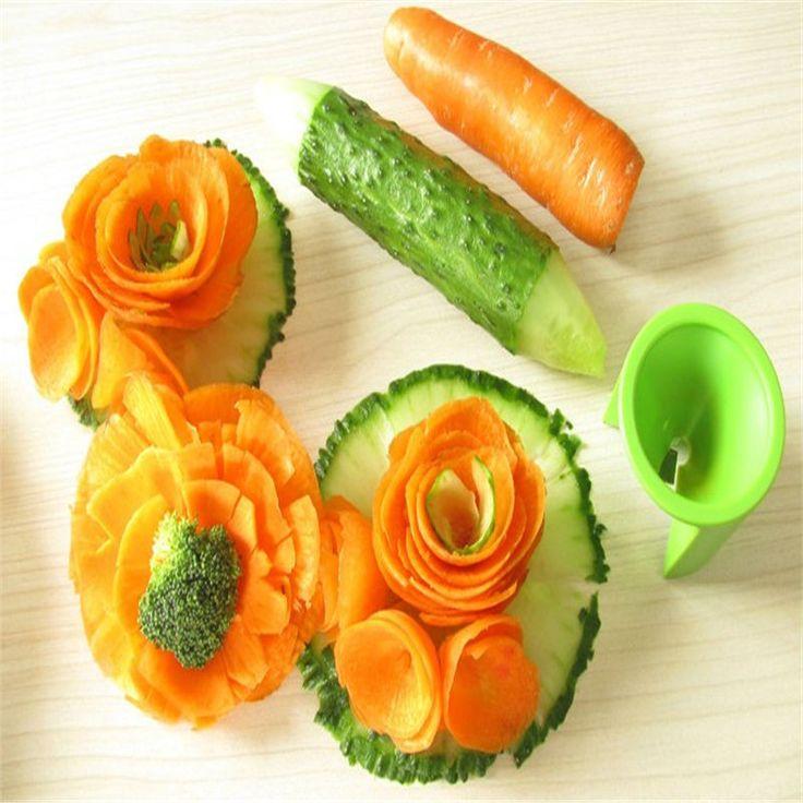 Spiral Vegetable Slicer Cooking Tools Gadgets Roll Flower