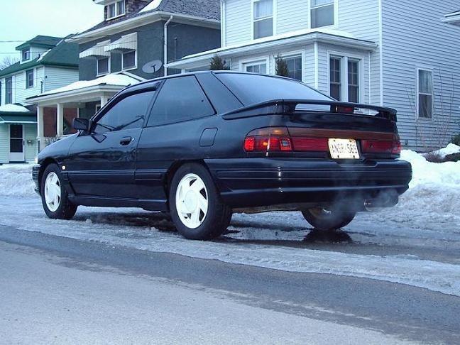 1991 ford escort gt mine was a 1990 hot pink ford. Black Bedroom Furniture Sets. Home Design Ideas