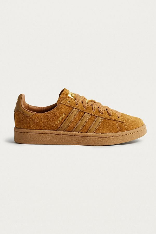 adidas Originals Campus Brown Trainers   Brown trainers, Adidas ...