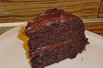 Chocolate Death Die schokoladigste und amerikanischste Schokoladentorte der Welt