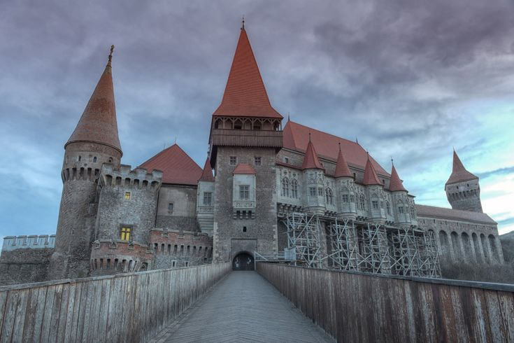 The Corvin Castle in Hunedoara. My grandparents used to live close to wonderful this place.