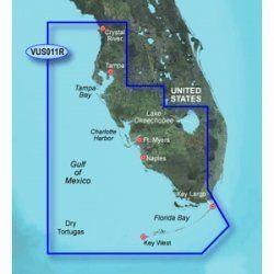 New-GARMIN VUS011R SOUTHWEST FLORIDA BLUECHART G2 VISION - 30367 by Garmin. $316.30. VUS011R Covers:Crystal River through Key Largo, including Tampa Bay, Ft. Myers, Lake Okeechobee, Florida Bay, Key West, and the Dry Tortugas