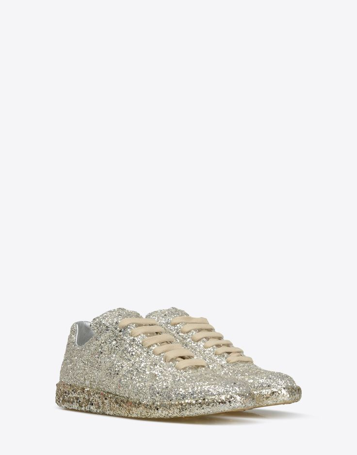 Maison Margiela Sneakers « Replica » Avec Paillettes Femme | Store Officiel