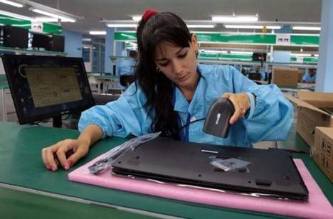 Havana, Cuba —The Industrial Company for Informatics, Communications and Electronics (GEDEME by its Spanish acronym) in Havana has assembled the first 3,5