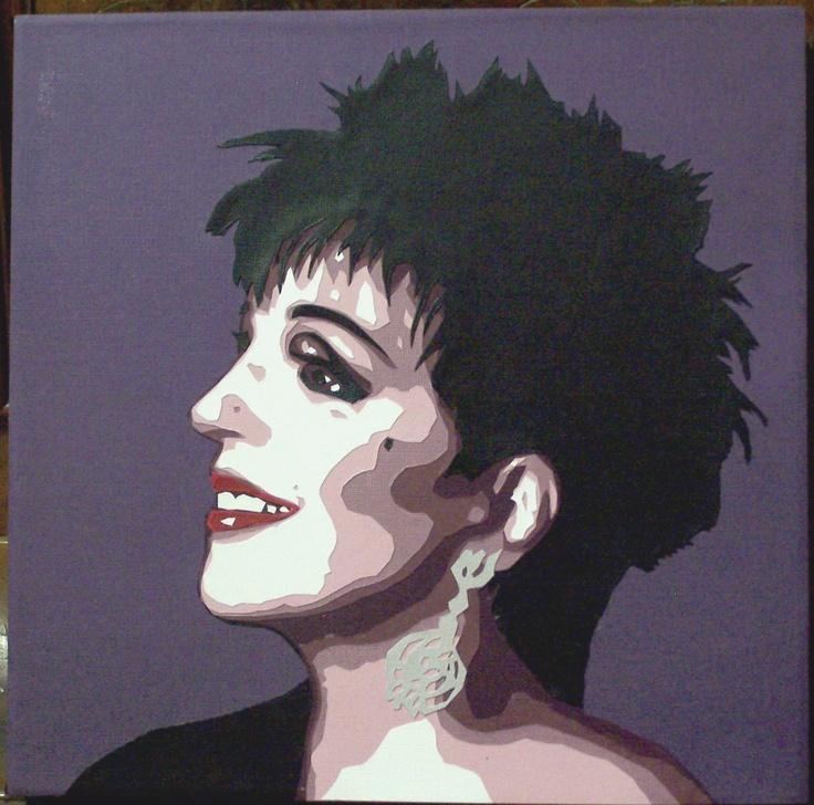 Liza Minelli  by Sue Maynes