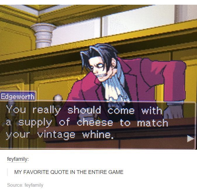 52 best Professor!OBJECTION! images on Pinterest Video games - i have no objection