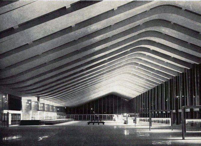 Stazione di Roma Termini, 1952