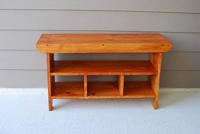 Ana White   Build a Build a Kid's Country Bench   Free and Easy DIY Project and Furniture Plans