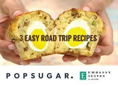 3 EASY ROAD TRIP RECIPES. Forget the stale potato chips and boring energy bars. Instead, stay one mile ahead with these easy and tasty recipes the next time you're headed out of town.