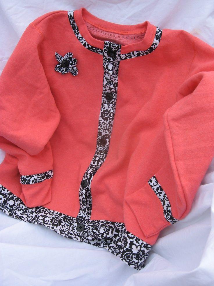 sweatshirt makeovers | Sweatshirt Makeover