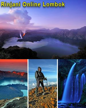 rinjani mountain trekking package in lombok Indonesia