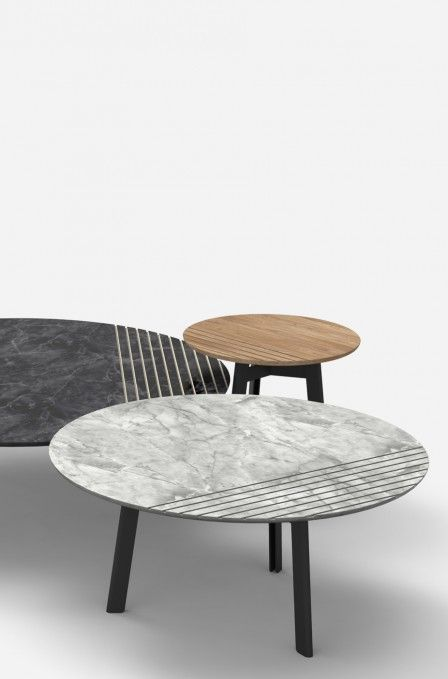 Charming GROOVE | Alain Gilles   Side Tables And Sofa Tables   Lines   Stripes    Marble