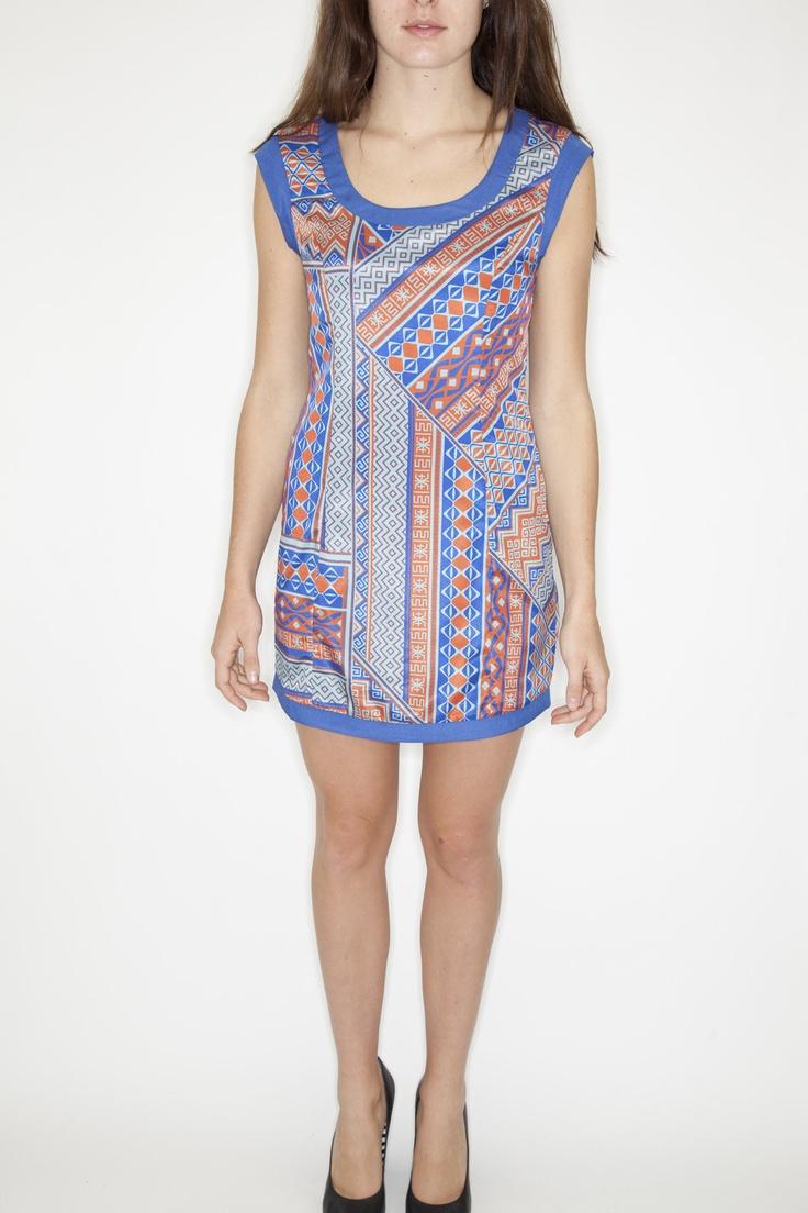 www.socko.ca  Pink Stitch Dress