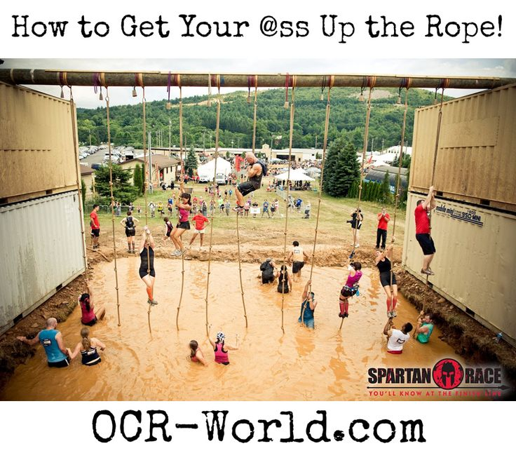 How to Climb the Spartan Rope