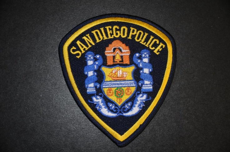 San Diego Police Patch, San Diego County, California (Current 1996 Issue)