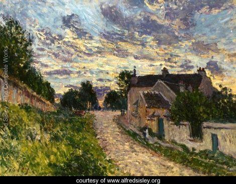 A Path in Louveciennes