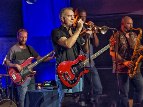 J J Grey and Mofro.  Went to his concert recently and loved it!!