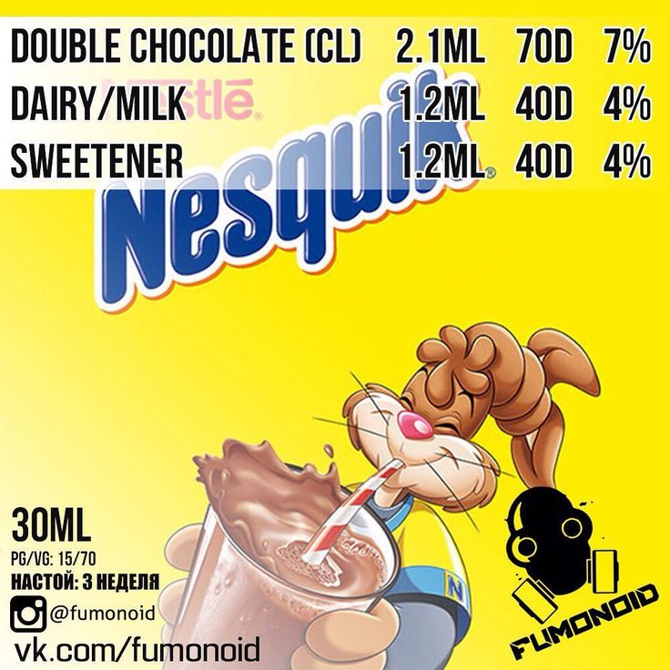 Nesquik - то самое, вкусное какао, от компании Nestle