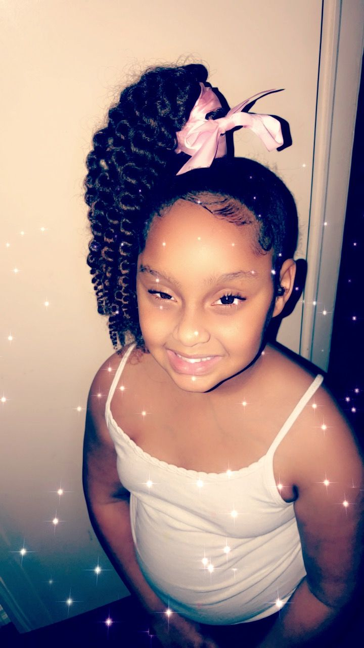 Little Girl Genie Ponytails  Black Girls Hairstyles -2559