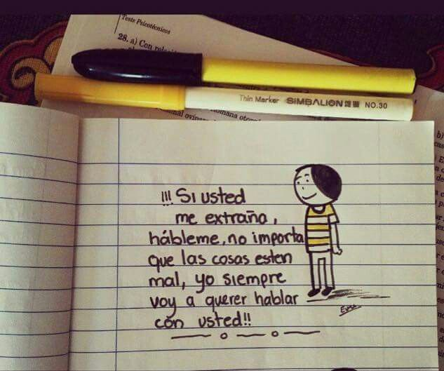 Si usted !!