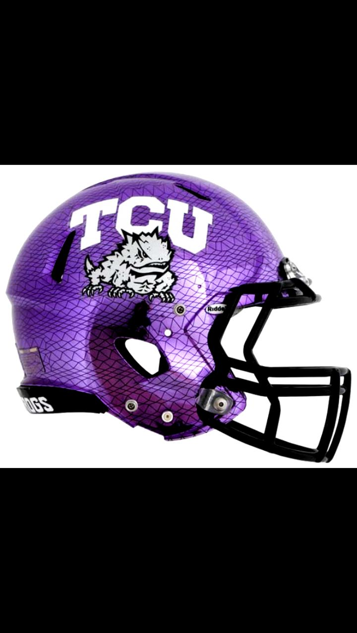 Good good in 2020 football helmets tcu football