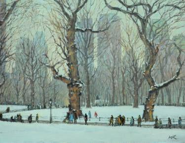Renee's Stroll in Winter