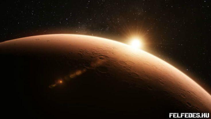 Ősi világ romjai keringhetnek a Mars pályáján