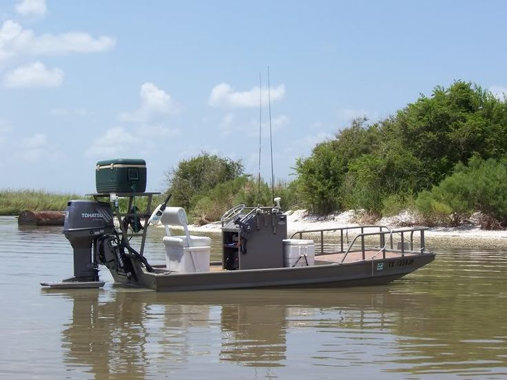 Flats Skiff/Scooters - Aluminum | Texas Scooter | Pinterest | Bowfishing
