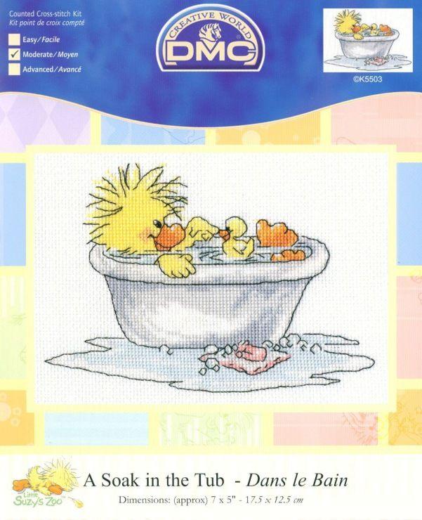 Little Suzy's Zoo A Soak in the Tub 1/3 - possible birth announcement