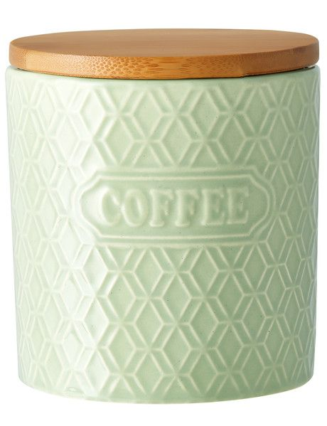 Store your favourite coffee in style on your kitchen bench with this coffee canister from the Cinemon range.