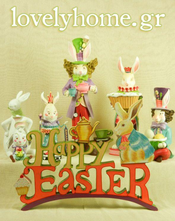 Οι διακοπές του Πάσχα αρχίζουν. Διαλέξετε λαμπάδες, αυγά, λαγουδάκια και χαρείτε την γιορτή που φιλοξενεί η Άνοιξη. #happyeaster #easter #easterideas